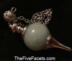 Annah Elizabeth's Aventurine Pendulum