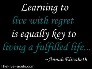 Healing and the Two Sides of Regret Quote