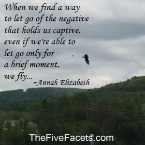Bird Learning to Fly w Quote