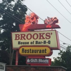 Brooks' BBQ Sign - Copy