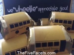 School Bus Chocolates
