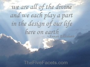 Annah Elizabeth's, The Five Facets Divine Design Theory