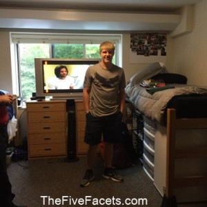 Big Guy's Dorm Room Done!