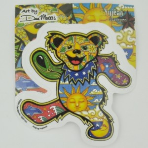 Dancing Bear Sticker by Dan Morris