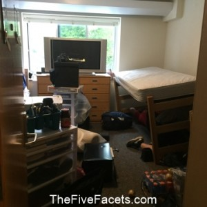 Dorm Room Move In Chaos