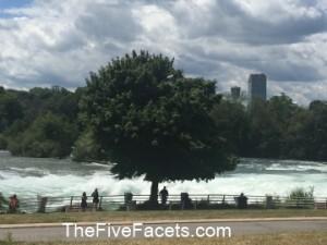 Rapids leading to American Falls, Niagara Falls