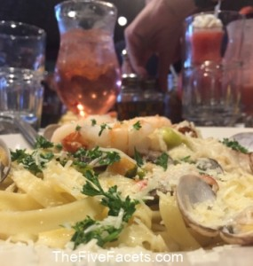 Riley's Alexandria Bay Seafood Pasta