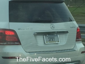 Spry License Plate