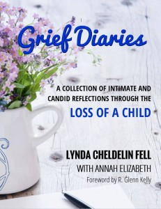 Grief Diaries Temp Book Cover Loss of a Child