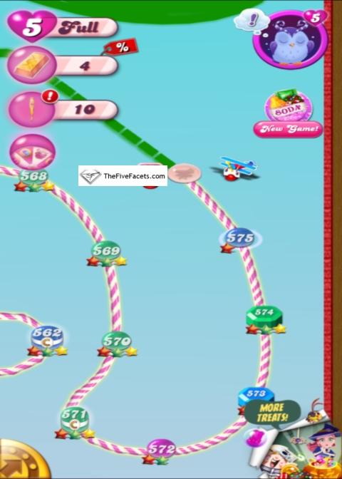 Candy Crush Level 575