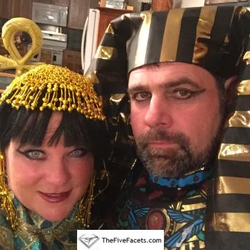Cleopatra & Pharaoh w Eyeliner