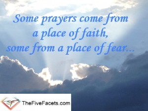 Annah Elizabeth Quote On Prayers from Faith and Fear
