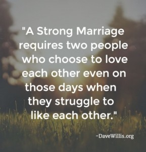 Dave Willis Marriage Quote Image