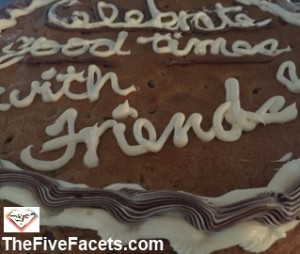 Cookie Cake for Big Guy and Friends