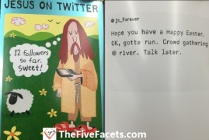 Funny Easter Card Jesus on Twitter