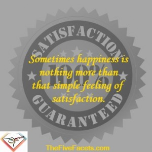 Satisfaction Guaranteed Medallion w quote