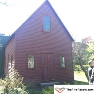 Original Meeting House for Salem Witch Trials