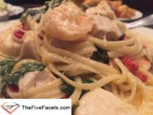 Seafood Pasta in Salem