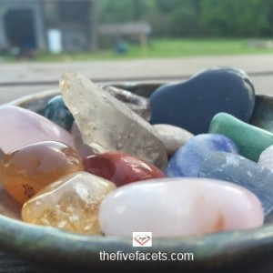 The Five Facets Recharging Crystals