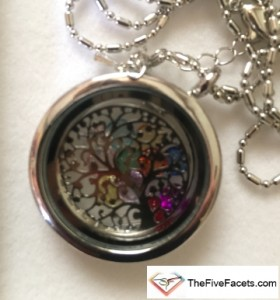 Tree of Life Locket from Sis to celebrate Gavin's 26th Birthday in Heaven