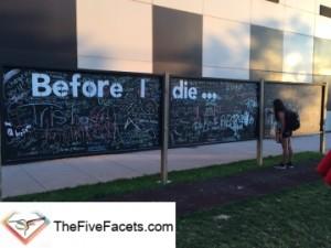 Inspirational Outdoor Community Activity Board