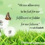Annah Elizabeth Envy Quote The Five Facets