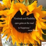 Annah Elizabeth Gratitude and Flexiblity quote