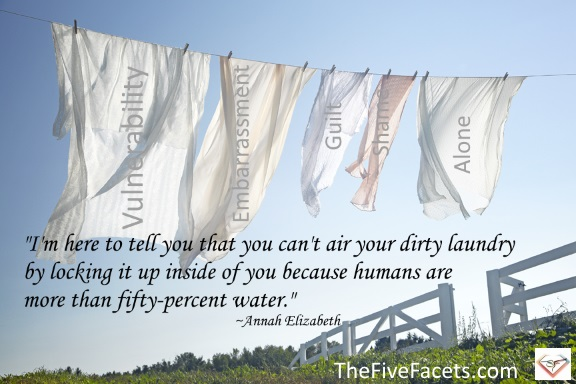 air your dirty laundry