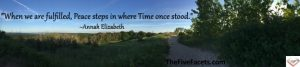Living Life Wide Open Trail Image Plus Annah Elizabeth's Fulfilled Quote