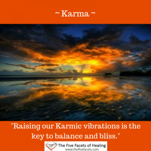 - Karma - Annah Elizabeth Quote Raising our karmic vibrations Instagram image