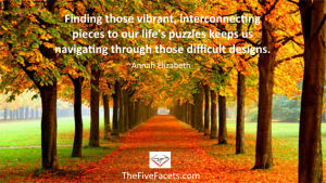 Life's Happy Puzzle w Annah Elizabeth Quote