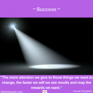 - Success - More we give attention MINI IG image