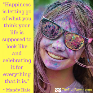 Happiness is... Mandy Hale Quote